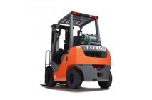 Газовый вилочный погрузчик Toyota 02-7FG10, 1 тонна