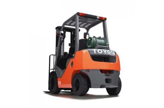 Газобензиновый погрузчик Toyota 02-8FGF15, 1.5 тонн