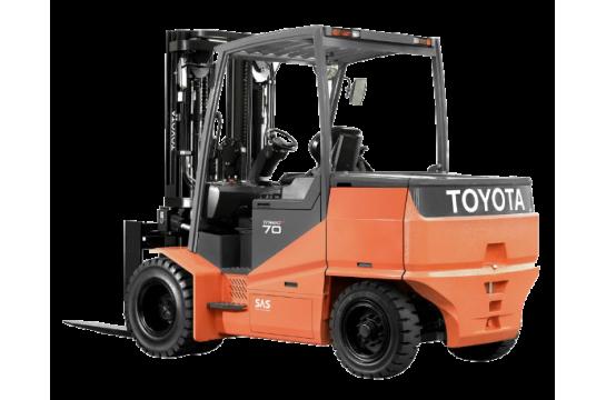 Электрический вилочный погрузчик Toyota 7FB14, 1.4 тонн