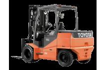 Электрический вилочный погрузчик Toyota 7FB20, 2 тонны
